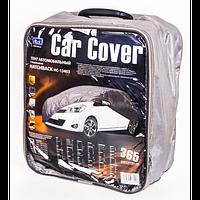 Тент автом. HC13403   M Hatchback серый Peva+non Woven 355х165х119 к.з/м.в.дв/м.б.