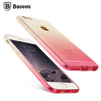 Чехол Baseus illusion для Iphone 6/6S Plus розовый