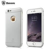 Чехол Baseus Fusion Classic для Iphone 6/6S Plus серебряный, фото 1
