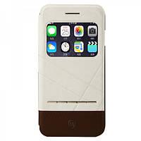 Чехол Baseus Unique Leather для Iphone 6/6S Plus белый, фото 1