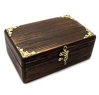 Шкатулка деревянная Антик, фото 1