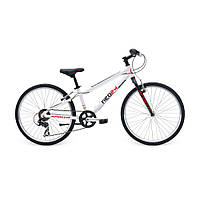 "Велосипед 24"" APOLLO Neo Boys Geared Gloss White / Gloss Black / Gloss Red"