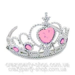 Карнавальная корона с  камнем принцессы