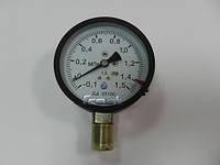 Мановакуумметр ДА 05100 (-0,1+1,5МПА)-1,5-NH3-13М
