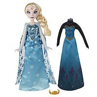 Куклы и пупсы «Disney Frozen» (B5169) кукла Эльза (Elsa) со сменным нарядом, 26 см