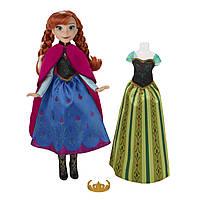 Куклы и пупсы «Disney Frozen» (B5169) кукла Анна (Anna) со сменным нарядом, 26 см
