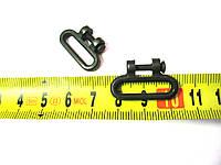 Кольцо антабки (серьга) с осью для поджимного винта пневматического пистолета (ИЖ)