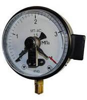Манометр электроконтактный сигнализирующий МТ-4С