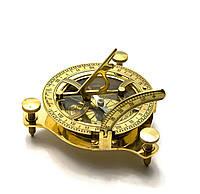 Солнечные часы бронзовые