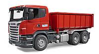 Игрушка Bruder Самосвал Scania со съёмным контейнером M1:16 (03522)