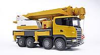Игрушка Bruder Автокран Scania Liebherr Большой свет, звук (03570), фото 1