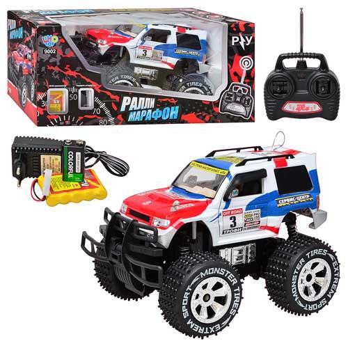 Джип Joy Toy на р/у, аккумуляторный, 1:12, 6568-318/9002