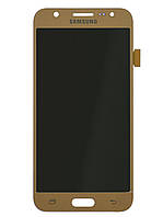 Модуль (Дисплей + сенсор) Samsung J500F, J500H, J500M with touch screen gold