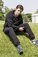 Спортивный костюм freever муж. черный утеп.байка трик.