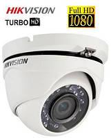 2.0mp Turbo HD купольная видеокамера DS-2CE56D0T-IRM