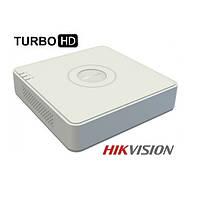 4-канальный Turbo HD видеорегистратор Hikvision DS-7104HGHI-SH, фото 1
