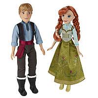 Куклы и пупсы «Disney Frozen» (B5168) набор кукол Анна и Кристофф (Anna & Kristoff), 28 см