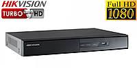 8-канальный Turbo HD видеорегистратор Hikvision DS-7208HGHI-SH, фото 1