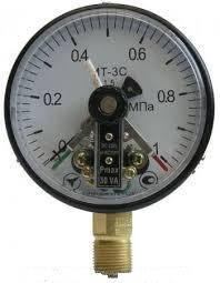 Манометр электроконтактный сигнализирующий МТ-3С, фото 2