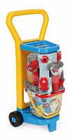 Детский игровой набор с тележкой Маленький механик 10776 Wader