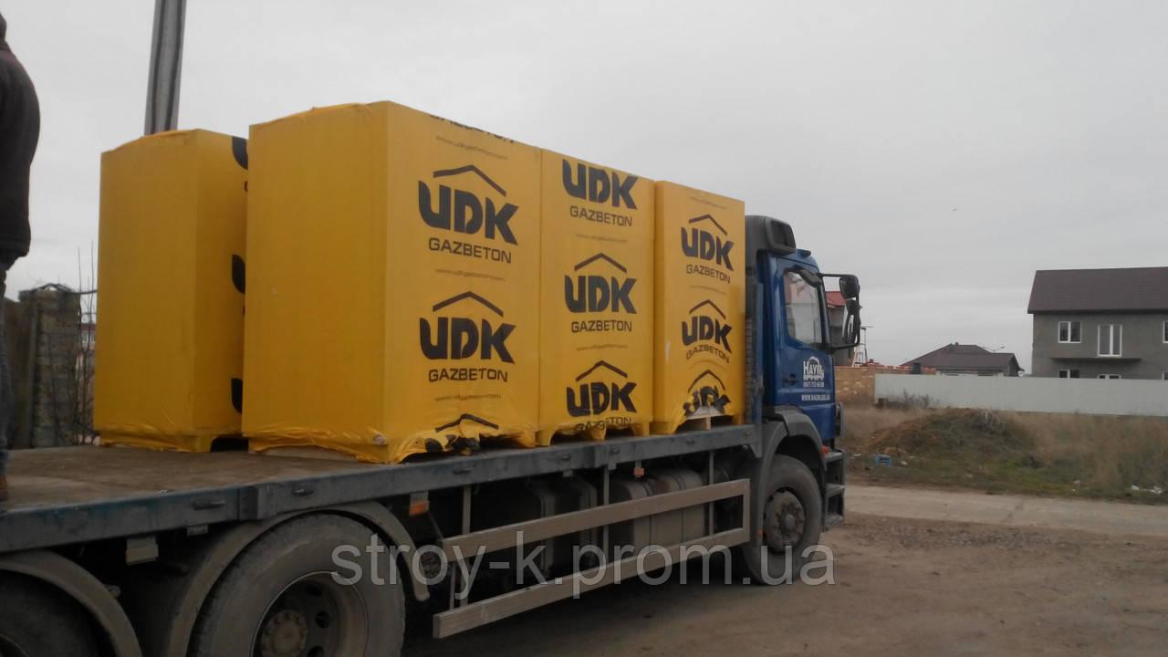 Газобетон, газоблок ЮДК UDK block 500,600х200х150