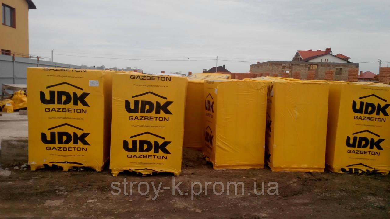 "Газобетон UDK block 500 - ЧП ""Строй-К"" в Одессе"