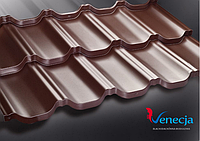 Модульная металлочерепица Venecja S-Pure (глянец) 250 грамм цинка/м2