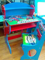 Набор детской мебели J002-3464 (детский столик и стульчики), дерево. КИЕВ, фото 1
