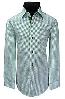 Рубашка детская  №12.1  9752/17466 зел.