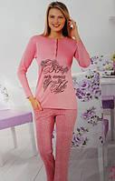 Байковая женская пижама №149