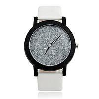 Часы «Звездное небо» белые