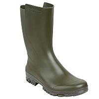 Зимние резиновые сапоги мужские, чоботи гумові Solognac INV100 хаки