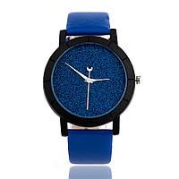 Часы «Звездное небо» синие