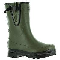 Зимние резиновые сапоги мужские, чоботи гумові Solognac TOUNDRA 300 зеленые