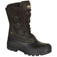 Зимние резиновые сапоги мужские, чоботи гумові Meindl SOLDEN коричневые