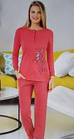 Байковая женская пижама №153