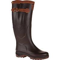 Резиновые сапоги мужские, чоботи гумові Aigle PARCOURS 2 SIGNATURE коричневые