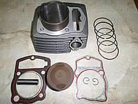 Цилиндр + поршень мт-150-6 4T 150куб.см. мотоцикл (62.0, p-15, h-69) (цепь)