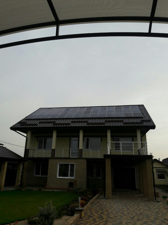 Солнечная электростанция 10,5 кВт (под Зеленый тариф) г. Днепр
