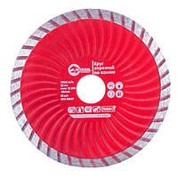 Диск отрезной Turbo, алмазный 125мм, 22-24% Intertool CT-2007