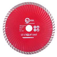 Диск отрезной Turbo, алмазный 180мм, 22-24% Intertool CT-2009