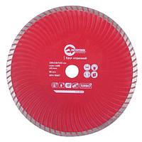 Диск отрезной Turbo, алмазный 230мм, 22-24% Intertool CT-2010