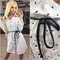 Платье женское рубашка Polo  Р 1340