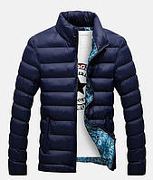 Куртка темно-синя