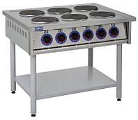 Плита электрическая промышленная ПЭ-6КР без духовки