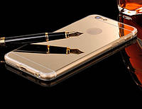 Зеркальный золотой чехол для Apple Iphone 7 Plus , фото 1