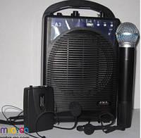 Акустическая система для презентацый JSL-3 (беспроводной ручной и головной микрофон)