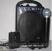 Акустична система для презентацый JSL-3 (бездротовий ручний і головний мікрофон)
