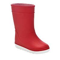 Сапоги резиновые детские, чоботи гумові Tribord B100 красные