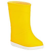Сапоги резиновые детские, чоботи гумові Tribord B100 желтые
